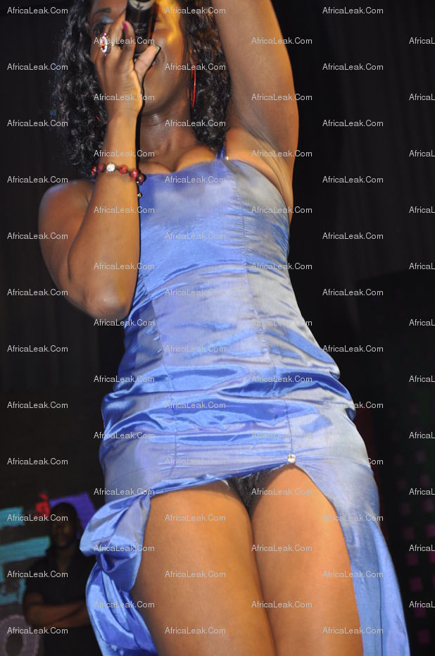 Ghanian Musician Raquel Hits The Stage Wearing No Panties